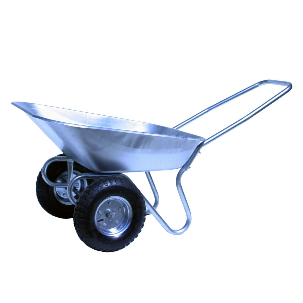 2 wheel wheelbarrow charging agm batteries with solar panels