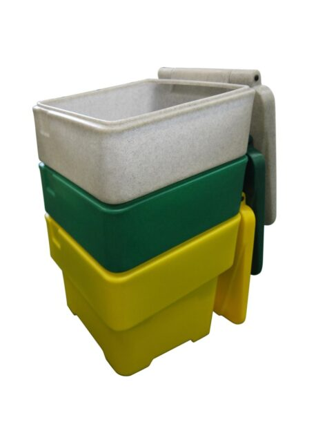 60 Litre Grit Bin with Salt and Scoop
