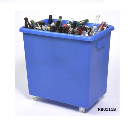 image of bottle skip bar trolley 1