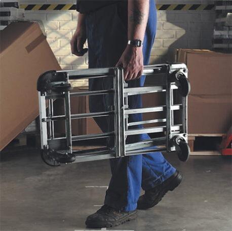 Aluminium Extending Folding Platform Trolley