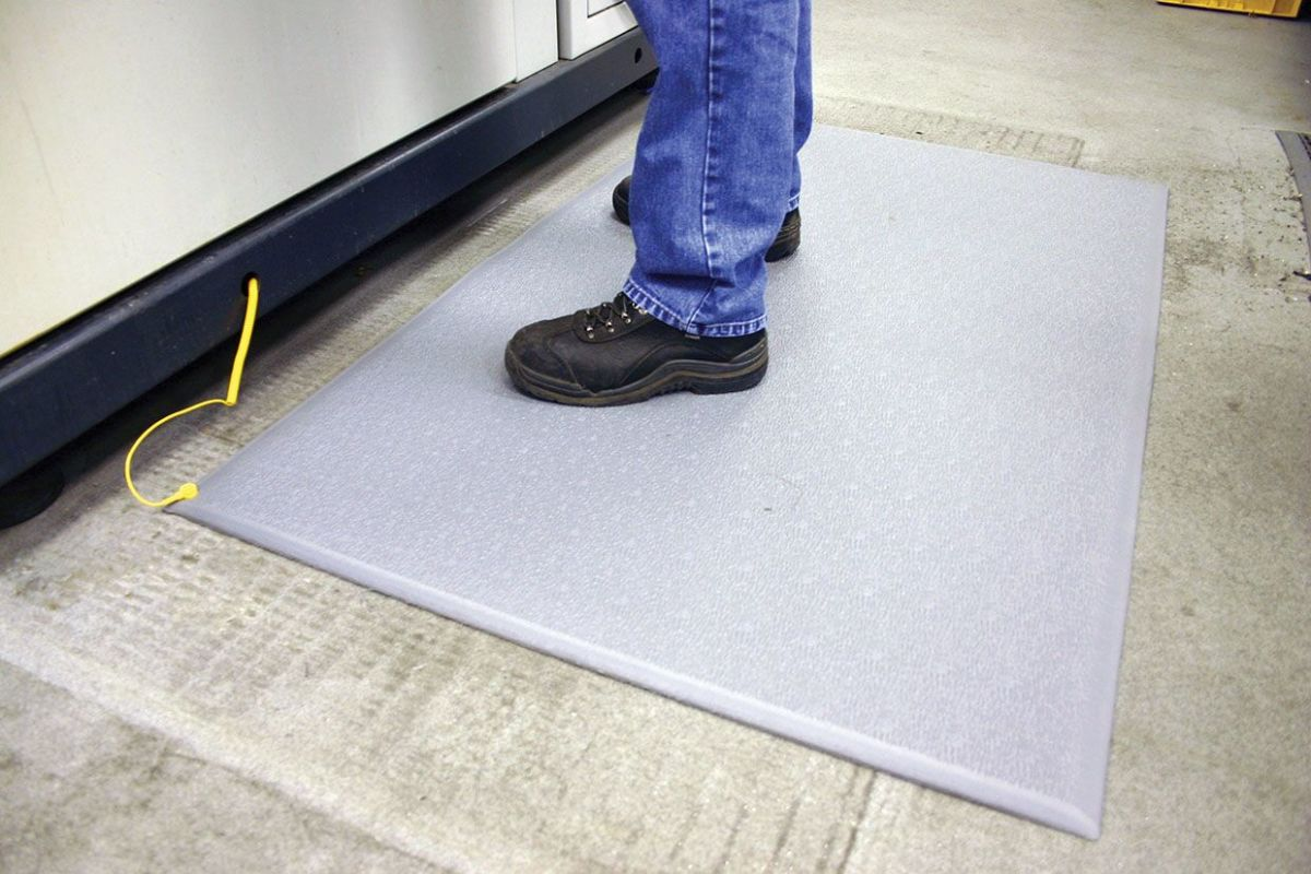 Static Mat For Office : Anti static fatigue mat cobastat workplace stuff