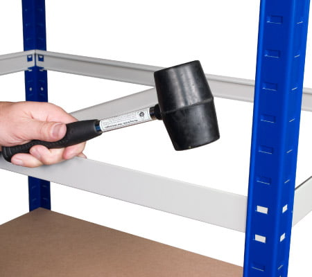 click shelving rubber mallet