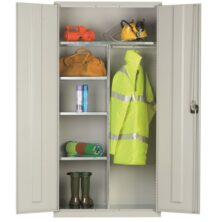 clothing and equipment cupboards standard and extra wide