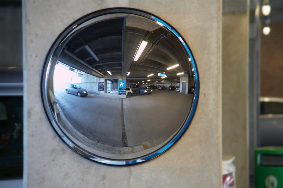 Convex Wall Mirror detective acrylic convex wall mirrors - workplace stuff