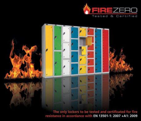 Fire Rated Lockers - Probe FireZero