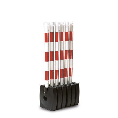 Folding Plastic Chain Barrier Kits - Guarda-Flex