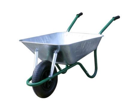 galvanised wheelbarrow easiload 85l capacity