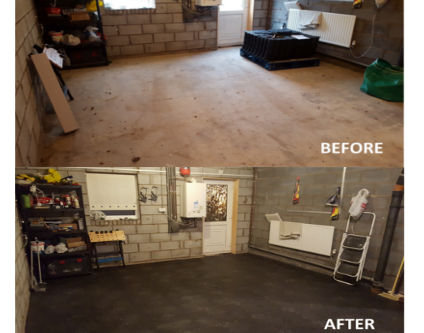 WS Customer Story; Interlocking Floor Tiles Inspire A Garage Renovation