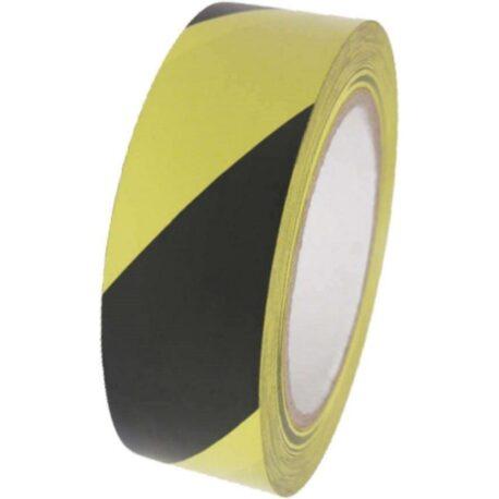 image of hazard tape black and yellow