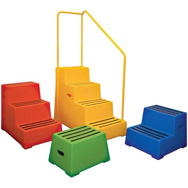 Heavy Duty Moulded Plastic Safety Steps Workplace Stuff
