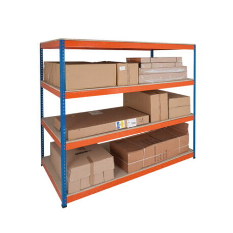 Heavy Duty Shelving - Up to 800kg Per Shelf