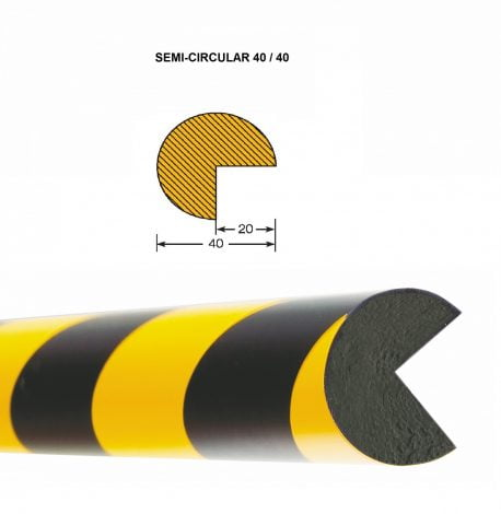 Impact Protection Edge Profiles - 1,000mm Lengths