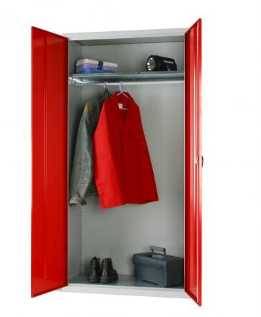 Industrial Steel Wardrobe Cupboards - Standard and Extra Wide