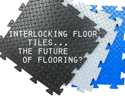 Interlocking Floor Tiles - Why You Should Replace Workshop/Garage Flooring