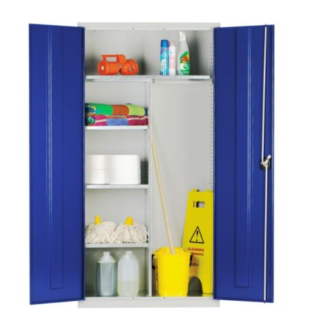 Janitorial / Cleaners Cupboards - Standard and Extra Wide
