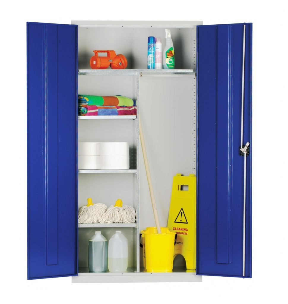 Janitorial Cleaners Cupboards Standard And Extra Wide