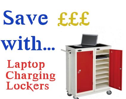 2 In 1 Benefits Of A Laptop Charging Locker Workplace Stuff