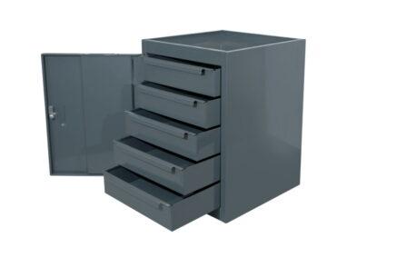 medium-duty-workbench-five-drawer-cupboard