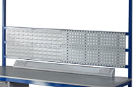 Medium Duty Workbench Support Bars & Louvre Panels