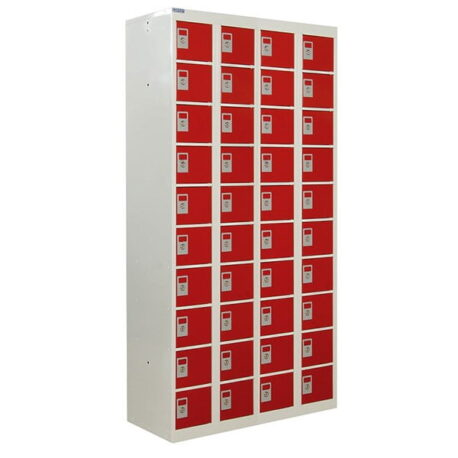 Personal Effects Lockers - 20 to 40 Compartments
