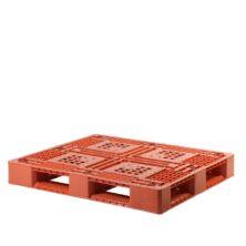 image of plastic pallet open deck
