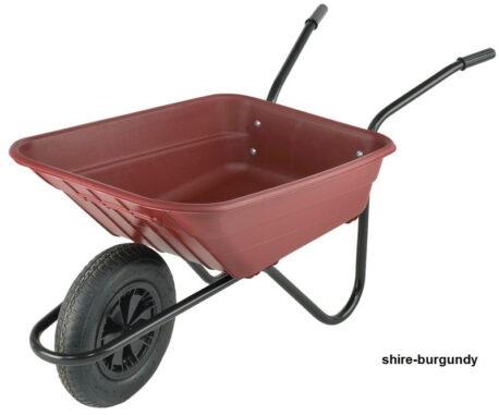 Plastic Wheelbarrow - Shire 90L Capacity