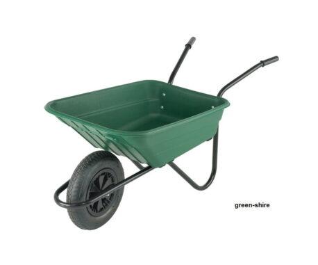 plastic wheelbarrow shire 90 litre capacity
