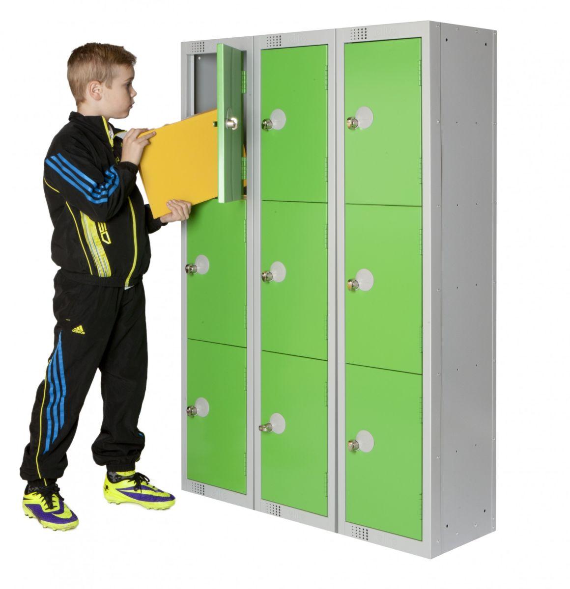 Primary school lockers 3 door workplace stuff for House lockers