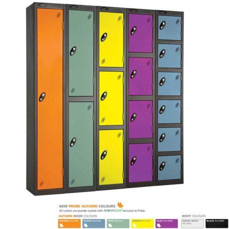 Probe Five Door Lockers