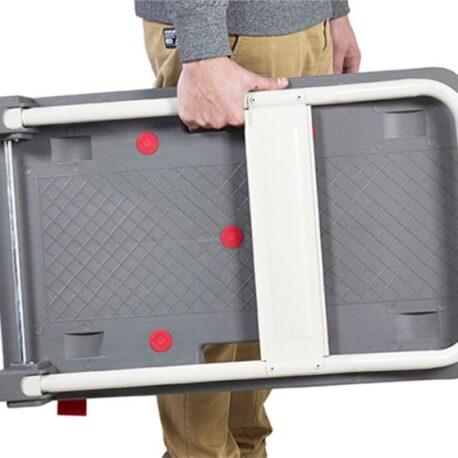 ProDek Heavy Duty Folding Platform Trolley with QuietCastors