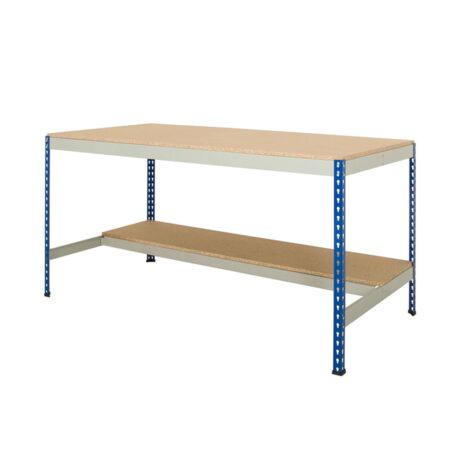 rivet-boltless workbench-half-undershelf