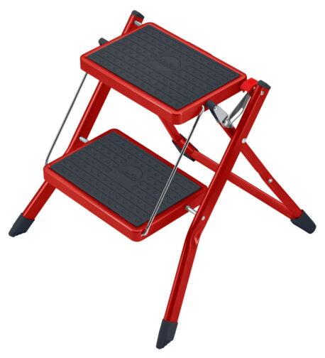 slimline folding mini step stool