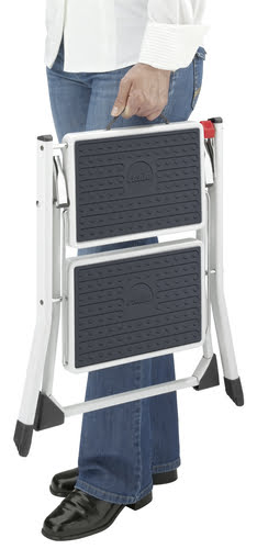 slimline folding mini step stool  sc 1 st  Workplace Stuff & Slimline Folding Mini Step Stool - Workplace Stuff islam-shia.org