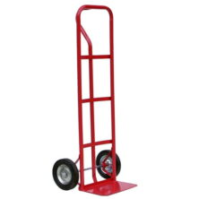 solid wheel p handle sack truck 150kg capacity