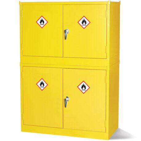 Stackable Hazardous Substance Storage Cabinets