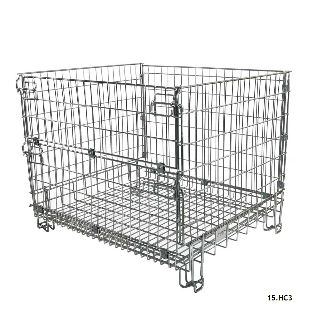 Stackable Mesh Cage Pallets Workplace Stuff
