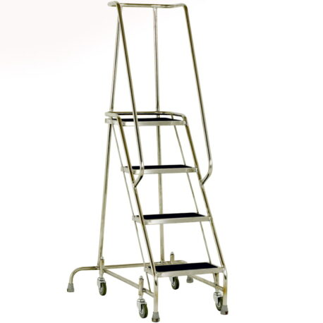 Stainless Steel Mobile Safety Steps