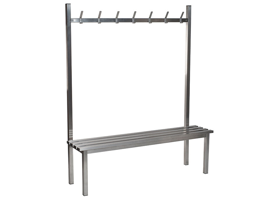 Stainless Steel Single Sided Changing Room Benches