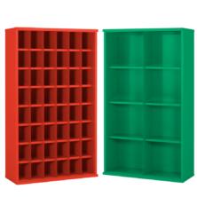 image of steel bin cabinets