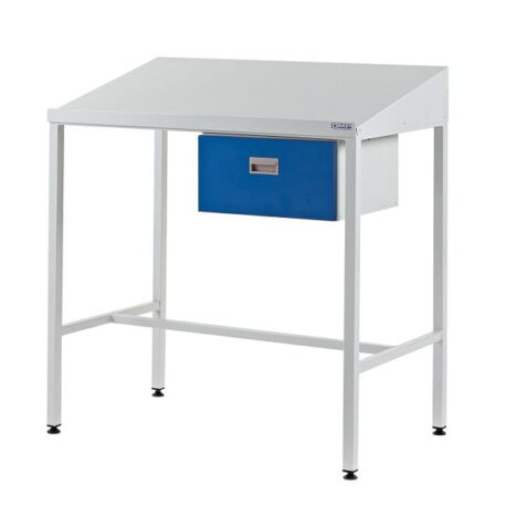 Team Leader Workstation with Single Drawer