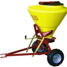 Towable Grit & Salt Spreader - 130 Litre Capacity