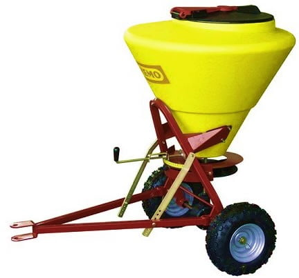 Towable Grit & Salt Spreader - 130 Litre Capacity