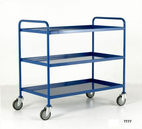 Tray Trolleys - Steel or Wood Trays