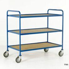 Tray Trolleys - Steel or Wood Trays