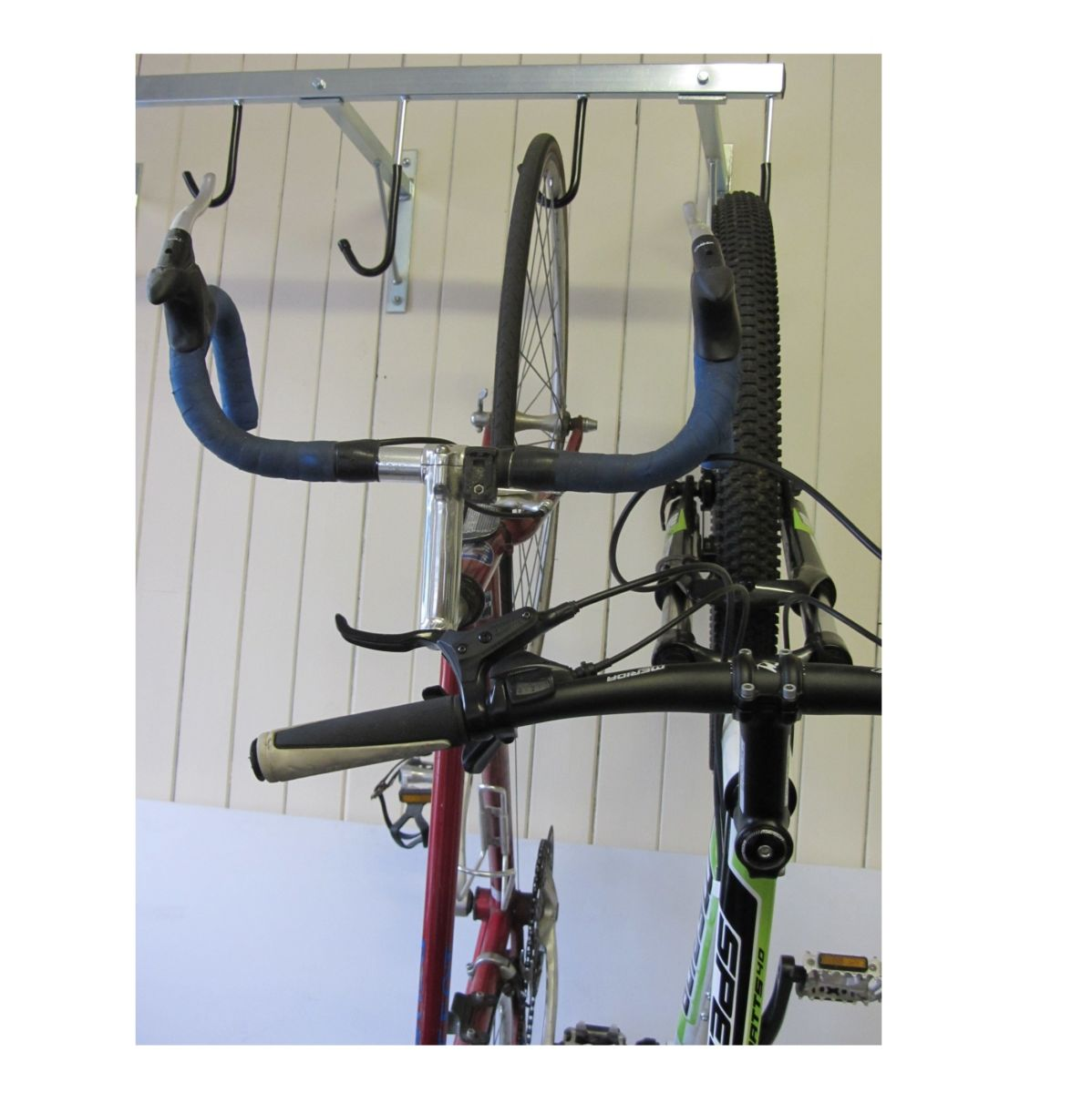 Vertical Cycle Rack For 4 5 Or 6 Bikes Workplace Stuff