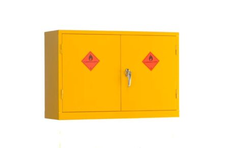Wall Mounted Flammable Liquid Storage Cabinet - Express Delivery