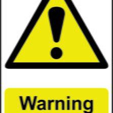 Warning Anti Climb Paint Sign